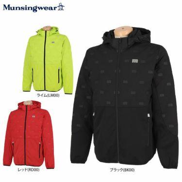 マンシングウェア Munsingwear メンズ 撥水 2WAY 長袖 フード付き フルジップ ダウンブルゾン MEMSJK04 2021年モデル 詳細1