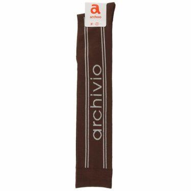 アルチビオ archivio レディース ロゴジャガード ニーハイソックス A110903 010 ブラウン 2021年モデル ブラウン(010)