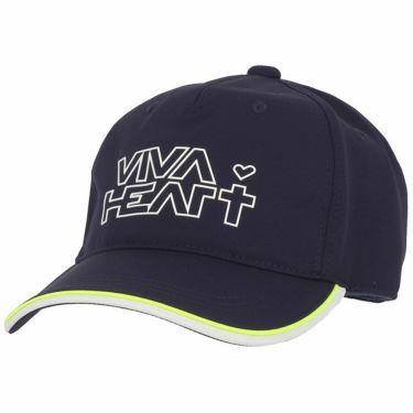 ビバハート VIVA HEART レディース ロゴプリント キャップ 013-55861 98 ネイビー 2021年モデル ネイビー(98)