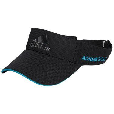 アディダス adidas メンズ メタルロゴ サンバイザー 22922 GU8640 ブラック 2021年モデル ブラック(GU8640)