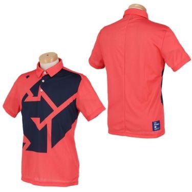 デサントゴルフ DESCENTE GOLF メンズ グラフィックプリント柄 半袖 ポロシャツ DGMSJA09 2021年モデル 詳細3