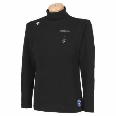 デサントゴルフ DESCENTE GOLF メンズ ストレッチ 長袖 タートルネックシャツ DGMSJB14 2021年モデル ブラック(BK00)