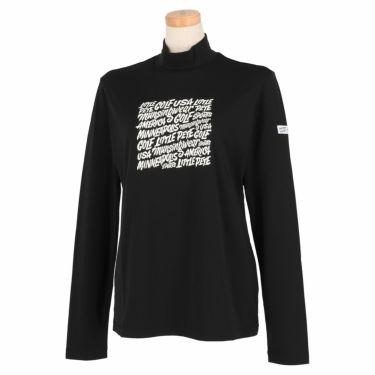 マンシングウェア Munsingwear レディース Ximena Jimenez コラボ 長袖 モックネックシャツ MEWSJB02 2021年モデル ブラック(BK00)