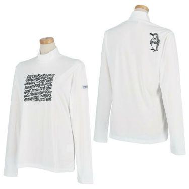 マンシングウェア Munsingwear レディース Ximena Jimenez コラボ 長袖 モックネックシャツ MEWSJB02 2021年モデル 詳細3
