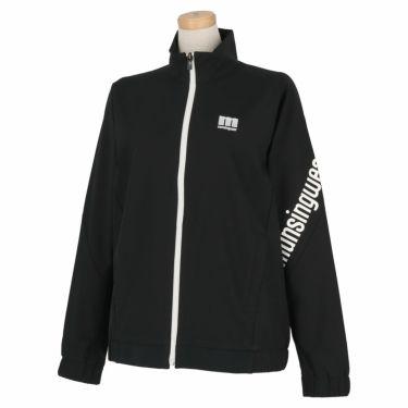マンシングウェア Munsingwear レディース ストレッチ 長袖 フルジップ ブルゾン MEWSJK01 2021年モデル ブラック(BK00)