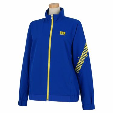 マンシングウェア Munsingwear レディース ストレッチ 長袖 フルジップ ブルゾン MEWSJK01 2021年モデル ブルー(BL00)