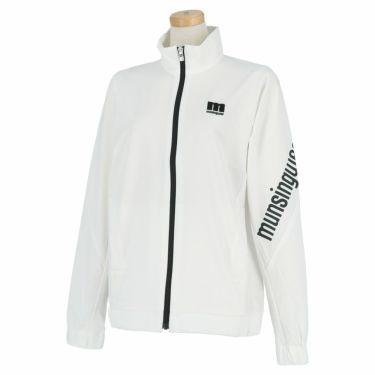 マンシングウェア Munsingwear レディース ストレッチ 長袖 フルジップ ブルゾン MEWSJK01 2021年モデル ホワイト(WH00)