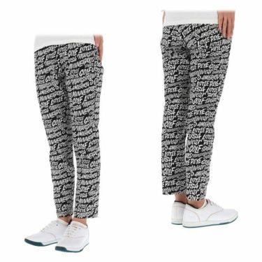 マンシングウェア Munsingwear レディース Ximena Jimenez コラボ 総柄 ストレッチ 9分丈 パンツ MEWSJD01 2021年モデル 詳細3