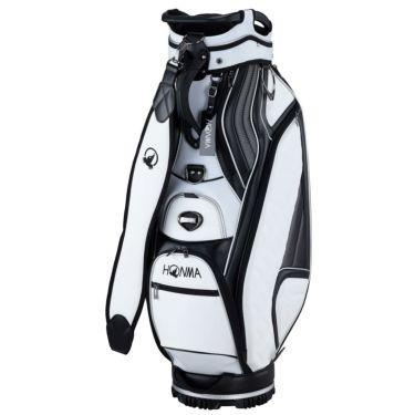 本間ゴルフ アパレルコレクションデザイン メンズ キャディバッグ CB-12007 WH ホワイト 2020年モデル ホワイト(WH)