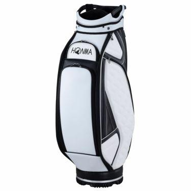 本間ゴルフ アパレルコレクションデザイン メンズ キャディバッグ CB-12007 WH ホワイト 2020年モデル 詳細1