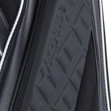 本間ゴルフ アパレルコレクションデザイン メンズ キャディバッグ CB-12007 BK ブラック 2020年モデル 詳細1