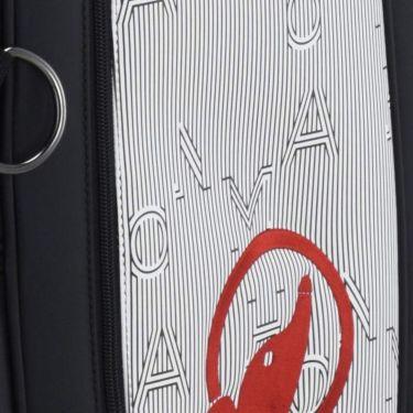 本間ゴルフ アパレルコレクションデザイン ユニセックス キャディバッグ CB-12009 BK ブラック 2020年モデル 詳細2