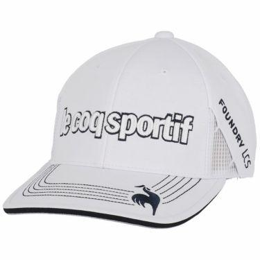 ルコック Le coq sportif メンズ 立体刺繍ロゴ キャップ QGBSJC00 WH00 ホワイト 2021年モデル ホワイト(WH00)