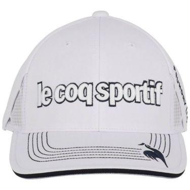 ルコック Le coq sportif メンズ 立体刺繍ロゴ キャップ QGBSJC00 WH00 ホワイト 2021年モデル 詳細2