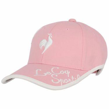 ルコック Le coq sportif レディース 立体刺繍ロゴ 撥水 キャップ QGCSJC00W PK00 ピンク 2021年モデル ピンク(PK00)