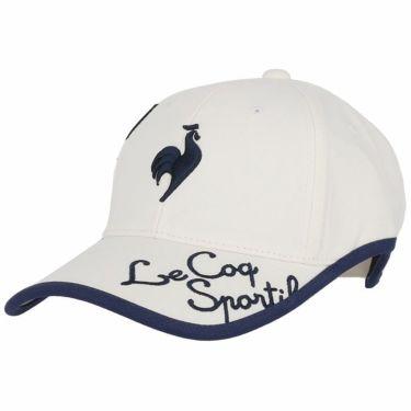 ルコック Le coq sportif レディース 立体刺繍ロゴ 撥水 キャップ QGCSJC00W WH00 ホワイト 2021年モデル ホワイト(WH00)