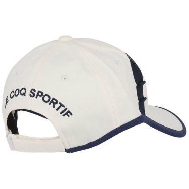 ルコック Le coq sportif レディース 立体刺繍ロゴ 撥水 キャップ QGCSJC00W WH00 ホワイト 2021年モデル 詳細1