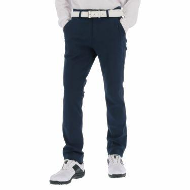 ルコック Le coq sportif メンズ 撥水 ロゴ刺繍 ストレッチ ロングパンツ QGMSJD02 2021年モデル [裾上げ対応1●] ネイビー(NV00)