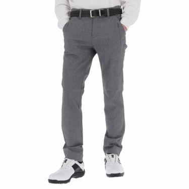 ルコック Le coq sportif メンズ 撥水 ロゴ刺繍 ストレッチ ロングパンツ QGMSJD02 2021年モデル [裾上げ対応1●] グレー(GY00)