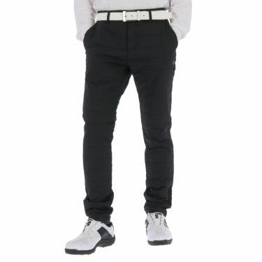 ピン PING メンズ 撥水 ロゴ刺繍 中綿入り ロングパンツ 621-1231004 2021年モデル [裾上げ対応4●] ブラック(010)