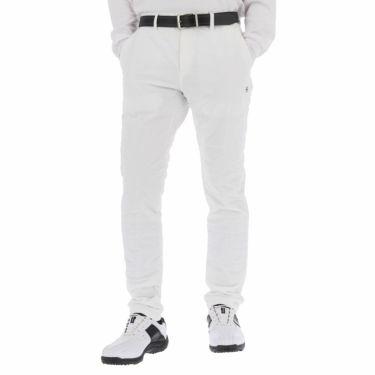 ピン PING メンズ 撥水 ロゴ刺繍 中綿入り ロングパンツ 621-1231004 2021年モデル [裾上げ対応4●] ホワイト(030)