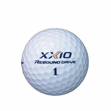 オウンネーム専用 ダンロップ XXIO ゼクシオ リバウンドドライブ 2022年モデル ゴルフボール 1ダース(12球入り)  詳細2
