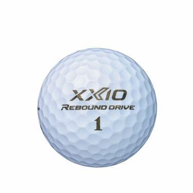 オウンネーム専用 ダンロップ XXIO ゼクシオ リバウンドドライブ 2022年モデル ゴルフボール 1ダース(12球入り)  詳細3