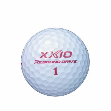 [オウンネーム専用] ダンロップ XXIO REBOUND DRIVE ゼクシオ リバウンドドライブ ゴルフボール 1ダース(12球入り) [2022年モデル] 詳細4