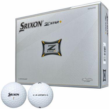 ダンロップ SRIXON スリクソン Z-STAR◆ ダイヤモンド 2021年モデル ゴルフボール 1ダース(12球入り) ホワイト