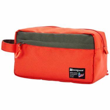 マンシングウェア Munsingwear ロゴワッペン ポーチ MQBSJA42 OR00 オレンジ 2021年モデル オレンジ(OR00)