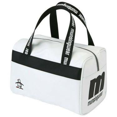 マンシングウェア Munsingwear ロゴプリント カートバッグ MQBSJA50 WH00 ホワイト 2021年モデル ホワイト(WH00)