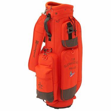 マンシングウェア Munsingwear 軽量 キャディバッグ MQBSJJ01 OR00 オレンジ 2021年モデル オレンジ(OR00)