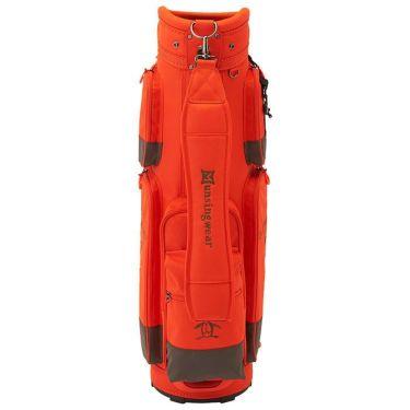 マンシングウェア Munsingwear 軽量 キャディバッグ MQBSJJ01 OR00 オレンジ 2021年モデル 詳細2
