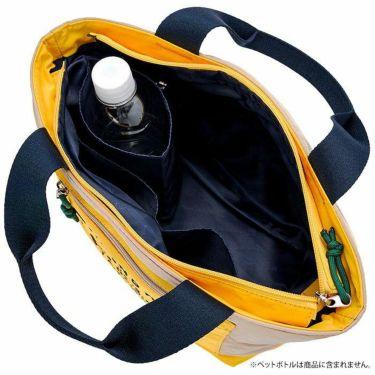マンシングウェア Munsingwear バイカラー カートバッグ MQCSJA45 BG00 ベージュ 2021年モデル 詳細2