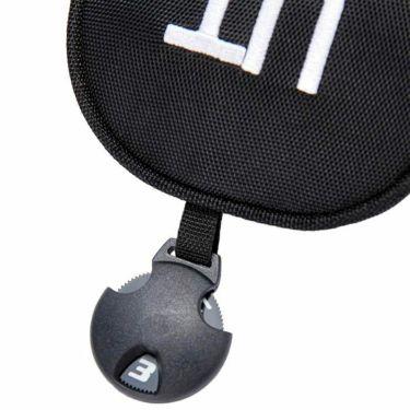 マンシングウェア Munsingwear ユーティリティ用 ヘッドカバー MQBSJG41 BK00 ブラック 2021年モデル 詳細3