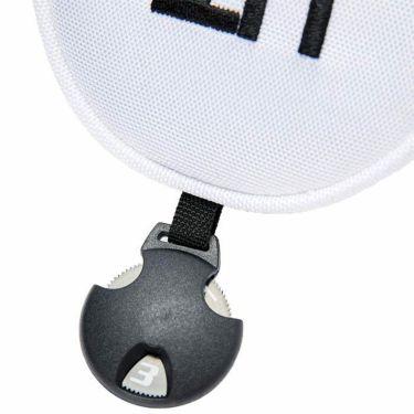 マンシングウェア Munsingwear ユーティリティ用 ヘッドカバー MQBSJG41 WH00 ホワイト 2021年モデル 詳細3
