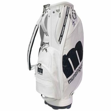 マンシングウェア Munsingwear キャディバッグ MQBSJJ03 WH00 ホワイト 2021年モデル ホワイト(WH00)