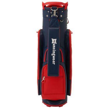 マンシングウェア Munsingwear Earth Pete キャディバッグ MQCSJJ00 RD00 レッド 2021年モデル 詳細2