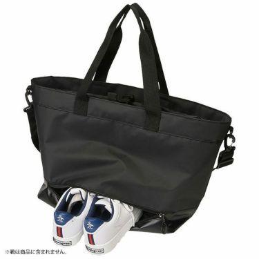ルコック Le coq sportif ショルダーベルト付き メンズ ボストンバッグ QQBSJA01 BK00 ブラック 2021年モデル 詳細1