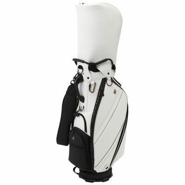 ルコック Le coq sportif メンズ キャディバッグ QQBSJJ00 WH00 ホワイト 2021年モデル ホワイト(WH00)