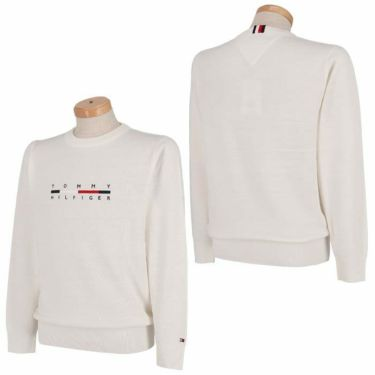 トミー ヒルフィガー ゴルフ メンズ ロゴ刺繍 長袖 クルーネック セーター THMA165 2021年モデル 詳細3