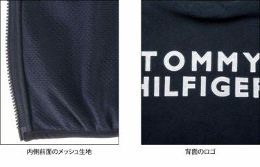 トミー ヒルフィガー ゴルフ メンズ 生地切替 フリース 長袖 フルジップ ジャケット THMA181 2021年モデル 詳細5