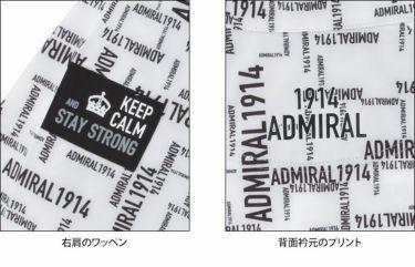 アドミラル Admiral レディース 撥水 防風 ストレッチ 生地切替 長袖 フルジップ ウインド ジャケット ADLA165 2021年モデル 詳細5