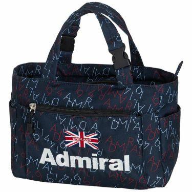 アドミラル Admiral モノグラム 総柄 ラウンドバッグ ADMZ1BT8 30 ネイビー 2021年モデル ネイビー(30)