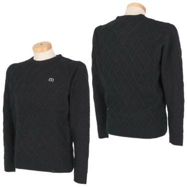 トラヴィスマシュー Travis Mathew メンズ 格子柄 ケーブル編み ウール混 長袖 クルーネック セーター 7AE020 2021年モデル 詳細3