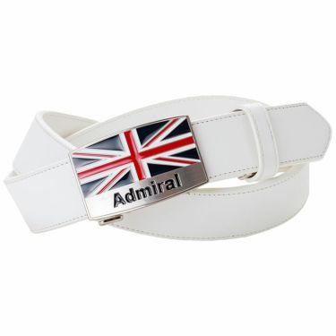 アドミラル Admiral ストレッチ キーリット メンズ ベルト ADMB1BV1 00 ホワイト 2021年モデル ホワイト(00)
