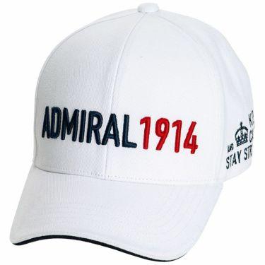 アドミラル Admiral カラーブロックロゴ ユニセックス キャップ ADMB1F51 00 ホワイト 2021年モデル ホワイト(00)