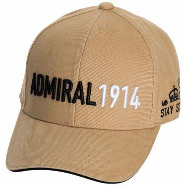 アドミラル Admiral カラーブロックロゴ ユニセックス キャップ ADMB1F51 29 ベージュ 2021年モデル ベージュ(29)