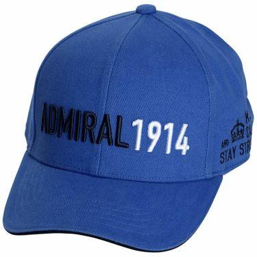 アドミラル Admiral カラーブロックロゴ ユニセックス キャップ ADMB1F51 34 ブルー 2021年モデル ブルー(34)