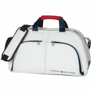 トミー ヒルフィガー ゴルフ ショルダーベルト付き ボストンバッグ THMG1FB1 00 ホワイト 2021年モデル ホワイト(00)